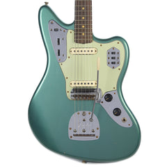 Fender Custom Shop 1963 Jaguar Journeyman Relic RW Faded Sherwood Green Metallic (Serial #CZ527696)