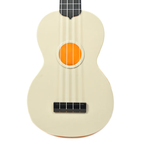 Makala Waterman Composite Soprano Ukulele Swirl Orange