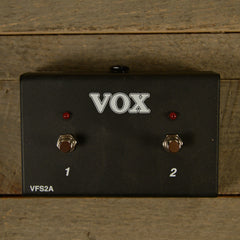 Vox VFS2A Two-Button Footswitch for AC15 & AC30 USED