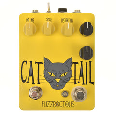 Fuzzrocious Cat Tail Distortion w/Killswitch Mod Yellow