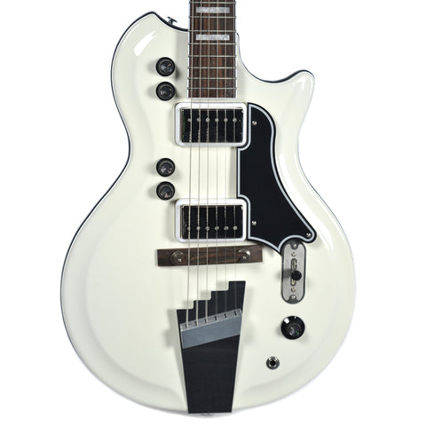 Supro 1524EW Dual-Tone Ermine White Floor Model
