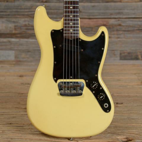 Fender Musicmaster RW Olympic White 1978 (s490)