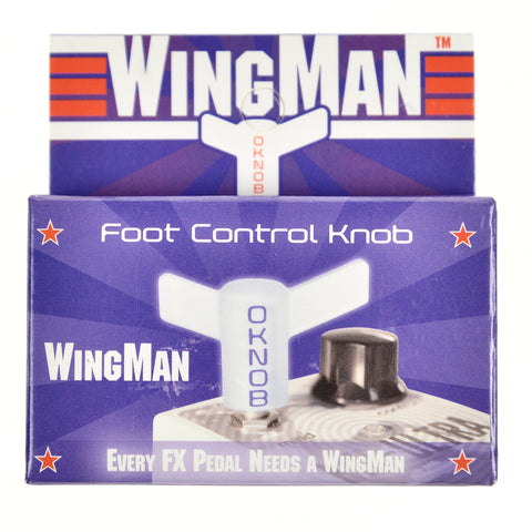 Option Knob Wingman Foot Control Knob