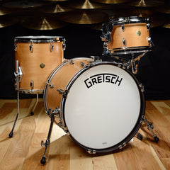 Gretsch Broadkaster 12/14/20 Classic Jazz 3pc Kit Satin Classic Maple