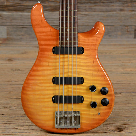 PRS Curly Bass-5 Sunburst 1990 (s100)