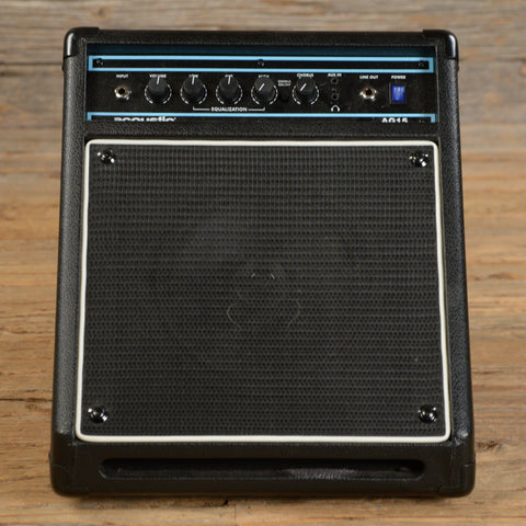 Acoustic AG15 15W Combo Amp USED