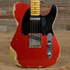 Fender Custom Shop 1951 Telecaster Heavy Relic Red Sparkle 2016 (s427)