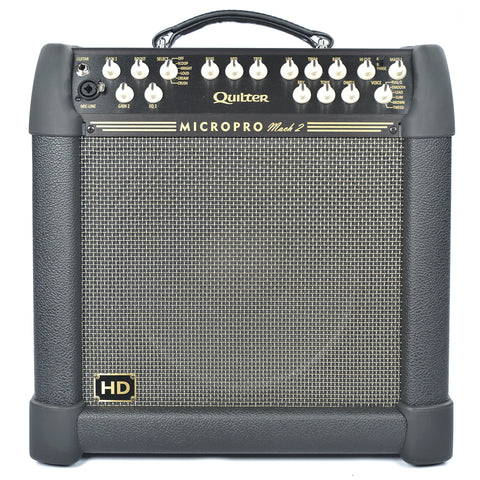 "Quilter Labs MicroPro Mach 2 HD Combo with 12"" Heavy Duty Speaker"
