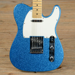 Fender CS Custom Sparkle Telecaster MN Blue Sparkle 2010