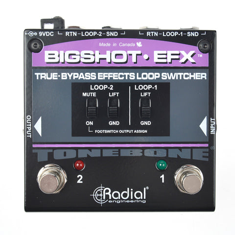 Radial Big Shot EFX True-Bypass Effects Loop V2