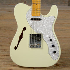 Fender American Vintage '69 Telecaster Thinline MN Olympic White USED (s838)