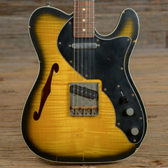 Nash T-69TL Special Flame Maple Top RW Relic w/Lollar Pickups, Double Bound, & 3-Ply Black Pickguard USED