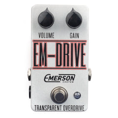 Emerson EM-Drive Overdrive Black/Red on White Sparkle