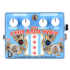 Daredevil Pedals Chicago Way Fuzz / Overdrive CME Exclusive Blue