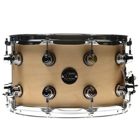 DW 8x14 Performance Snare Drum Natural Lacquer