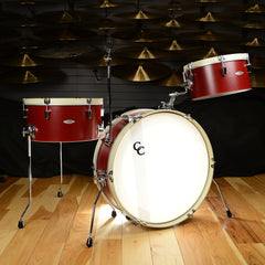 C&C Super Flyer Ox Red w/ Antique White Hoops 13/16/22