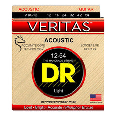 DR Strings VTA-12 Veritas Acoustic 12-54