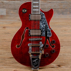 Epiphone Les Paul ES Wine Red w/Bigsby USED (s053)