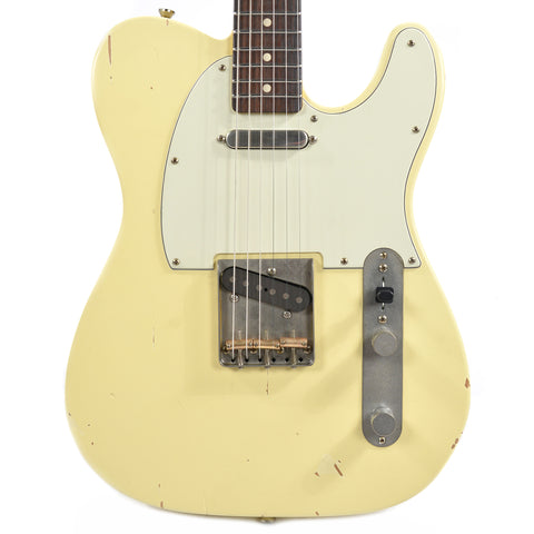 Nash T-63 Vintage White Light Aging w/3-Ply Mint Pickguard & Lollar Pickups (Serial #3931)