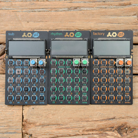 Teenage Engineering Pocket Operator Bundle USED