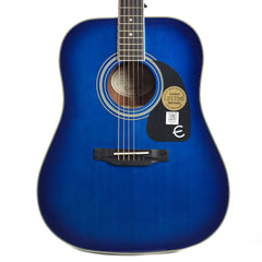 Epiphone PRO-1 Plus Dreadnought Acoustic Trans Blue