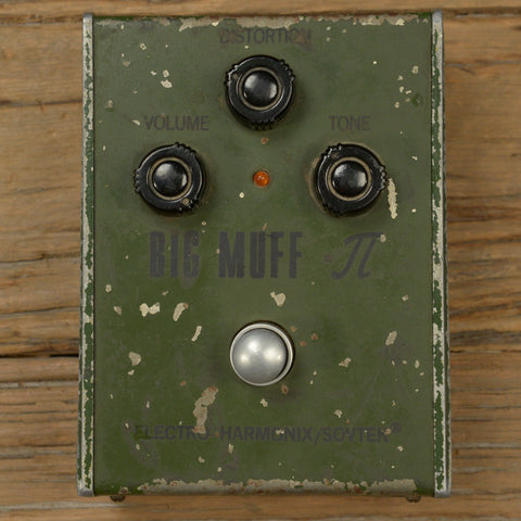 Electro-Harmonix Big Muff Green Russian w/Box USED