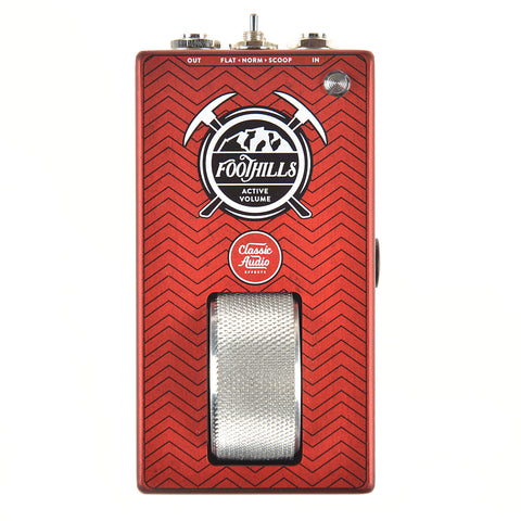 Classic Audio Effects Foothills Active Volume Roller Pedal