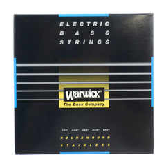 Warwick Bass Strings Black 5 String Set Medium Light High C