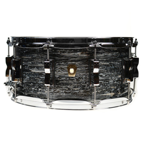 Ludwig 6.5x14 Classic Maple Snare Drum Vintage Black Oyster