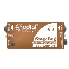 Radial StageBug SB-7 Ear Muff Passive Headphone Controller