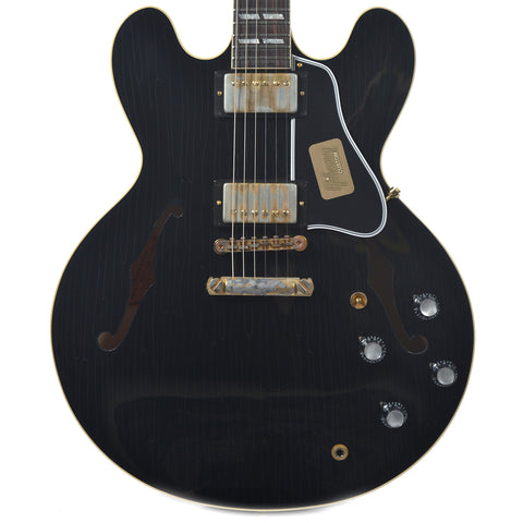 Gibson Custom Shop 1963 ES-335 Reissue Lightly Aged PSL Ebony NH (Serial #CME026)