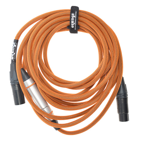 Orange 20ft. XLR Mic Cable with Twister Module