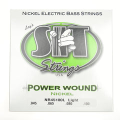 S.I.T. Power Wound Nickel Plated Bass Strings Light