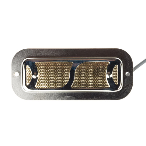 Curtis Novak Goldfoil S-Grille Pickup w/2mm Elevated Bezel