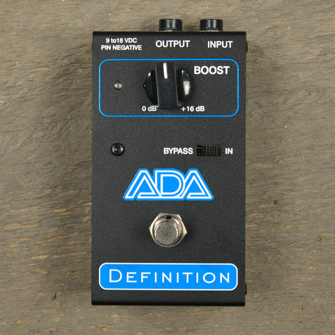 A/DA Definition Pre-Ampilifier USED