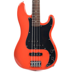 Squier Affinity PJ Bass Race Red RW w/3-Ply Black Pickguard