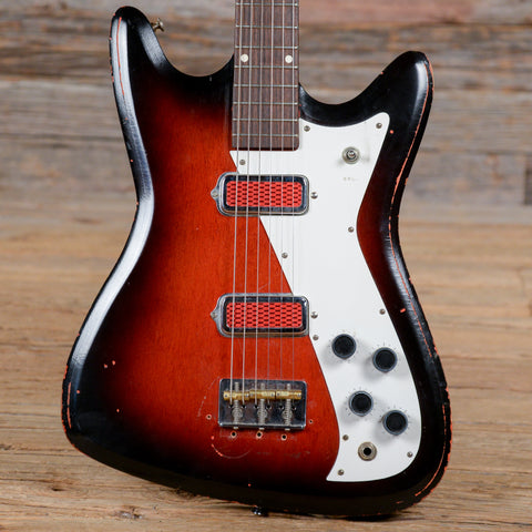 Kay Vanguard Red Burst 1966