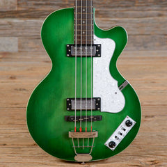 Hofner Ignition LTD Club Electric Bass Guitar '70s Green USED (s470)