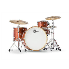 Gretsch Catalina Club Rock 4pc Shell Pack 12/16/24/6.5x14 Satin Walnut Glaze
