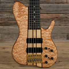 Ken Smith BSR6EG Singlecut 6-String Bass Quilted Maple Natural w/OHSC USED (Serial #6EGSC6635FX16)