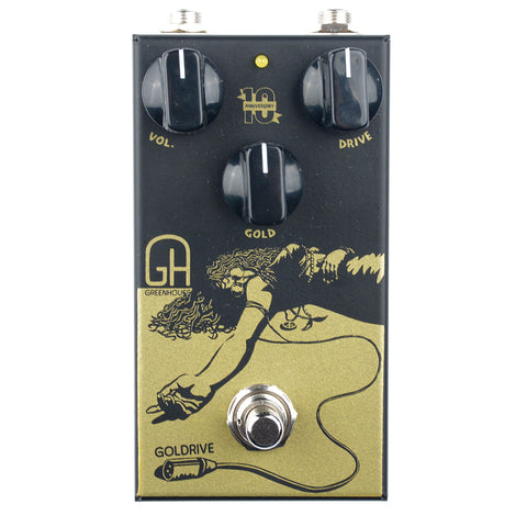 Greenhouse Effects Goldrive Overdrive Pedal