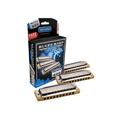 Hohner Blues Harp Pro Pack C/G/A