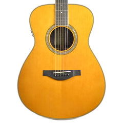 Yamaha LS-TA VT Jumbo All-Solid Englemann Spruce/Rosewood Acoustic Vintage Tint w/Built-In Effects Floor Model