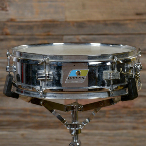 Ludwig 3x13 Steel Piccolo Snare Drum Early 1970s USED