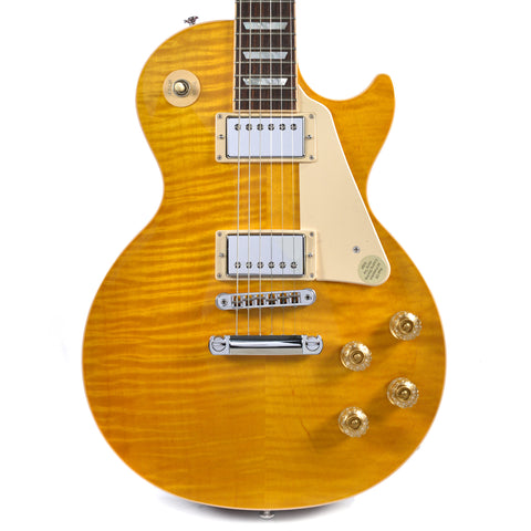 Gibson USA Les Paul Standard RS 2015 Trans Amber/Cherry Back