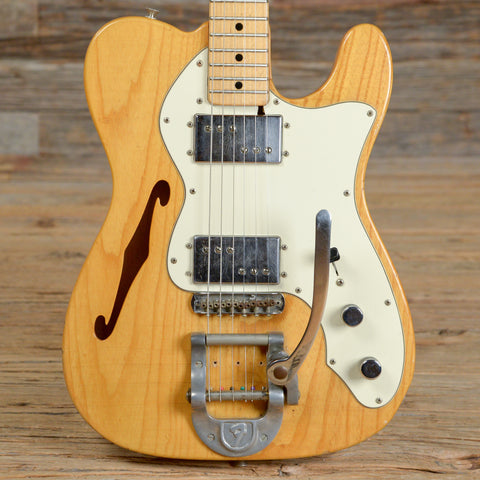 Fender Telecaster Thinline Natural 1974 (s896)