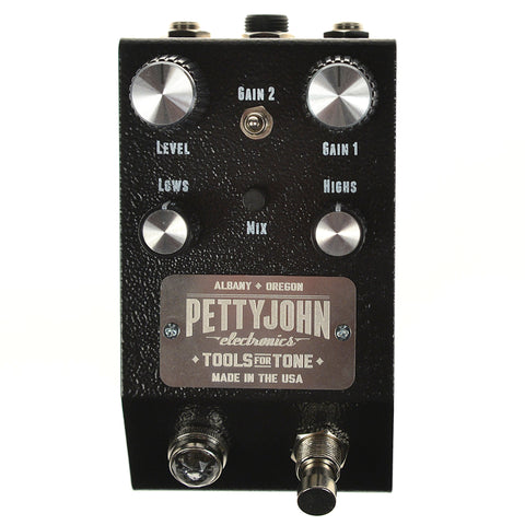 Pettyjohn Electronics Fuze Distortion Fuzz Pedal