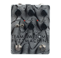 smallsound/bigsound Team Awesome Fuzz Machine Black/Clear Sparkle