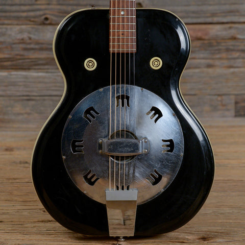 Airline Resoglass Resonator Black 1964