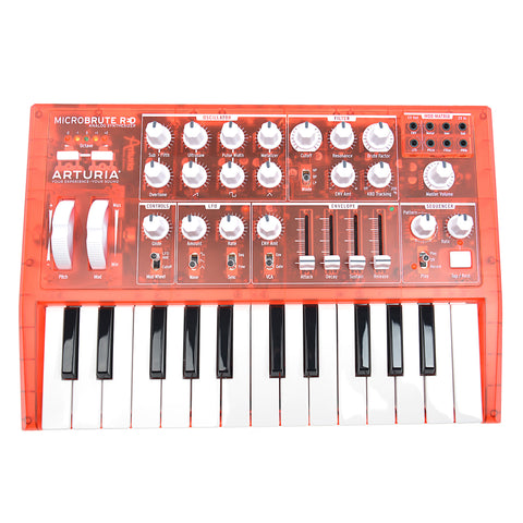 Arturia MicroBrute Analog Synthesizer Red